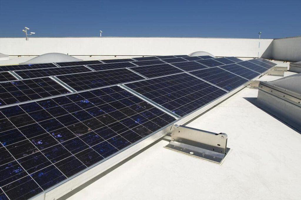 Solar Panel Cleaning - Newton Window Cleaning